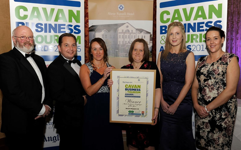Morans Mega Jam Cavan Ireland - Most Inclusive Employer Winner 2015
